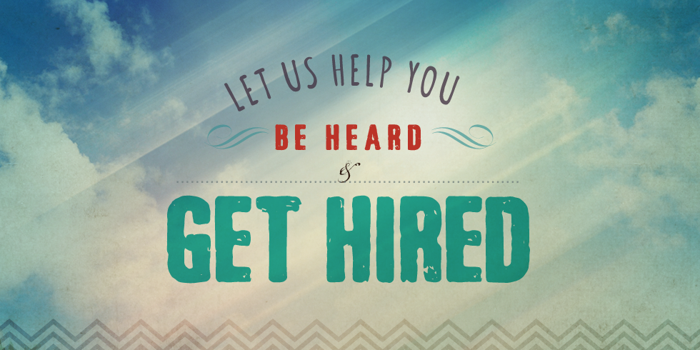 Let us help you get hired